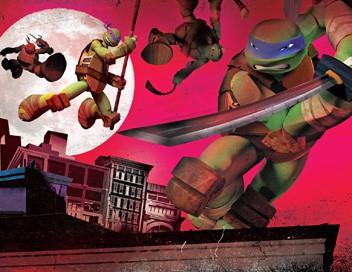 Les Tortues Ninja S01E11 L'attaque des mascottes