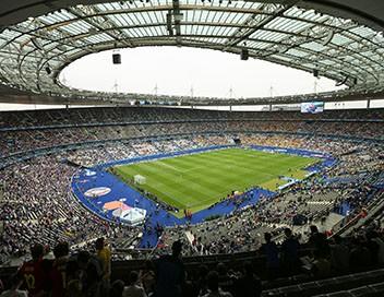 Le Stade de France, tout un monde