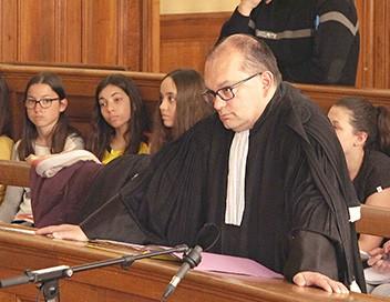 L'exercice de la justice E01 La vie quotidienne d'un tribunal en France