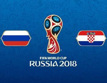 Russie / Croatie Football Coupe du monde 2018