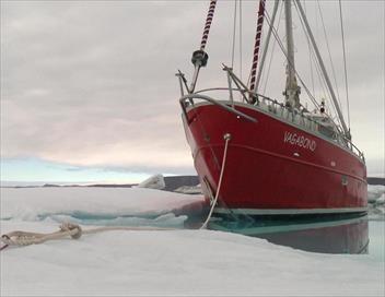 Sur le grand océan blanc