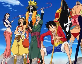 One Piece S19E790 Le château de l'Impératrice. Arrivée à Whole Cake Island !