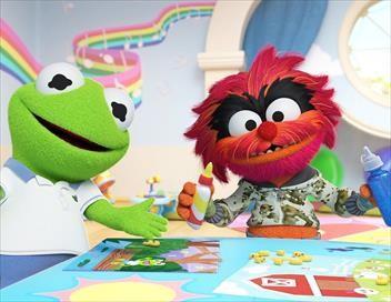Les Muppet Babies S01E18 Le requin des cartes