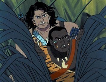 Conan l'aventurier E37 Hanuman le dieu singe