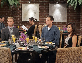 How I Met Your Mother S02E03 Charité le brunch