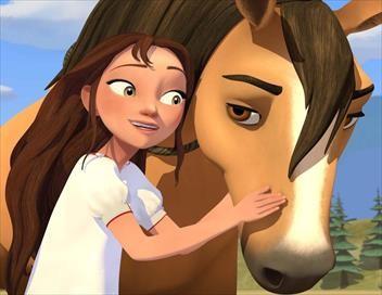 Spirit : au galop en toute liberté S04E06 Lucky et sa nouvelle famille