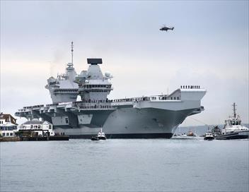 Le plus grand porte-avions d'Europe E03 Cap vers l'avenir