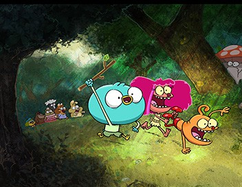 Harvey Beaks S01E10 Quelqu'un a volé mes affaires