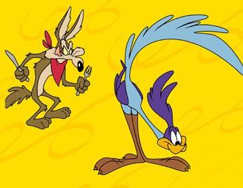 Bip Bip et Vil Coyote S01E16 Espionnage et bricolage