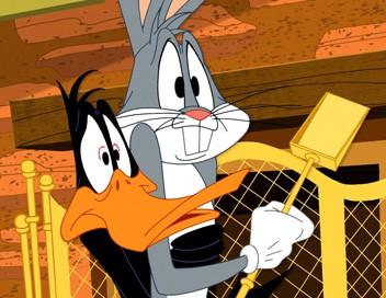 Looney Tunes Show S02E08 La guerre des frites. - Jour de fête