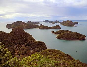 Les 20 chefs-d'oeuvre de la nature E14 Parc national de Mu Ko Ang Thong (Thaïlande)