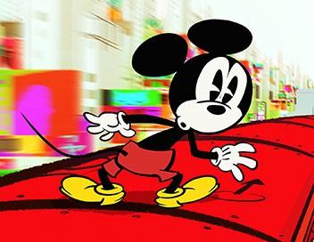Mickey Mouse compilations S01E06 Le match de football. - Bobo à la papatte. - Le couple adorable
