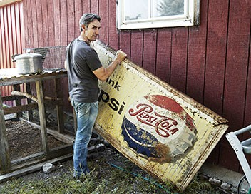 American Pickers, la brocante made in USA S06E35 Le Saint Graal de Frank