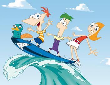 Phineas et Ferb S01E25 Les garçons contre les filles. - La comète de Kermilian