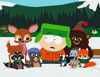 South Park S08E14 Le Noël des petits animaux dans la forêt