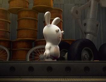 Les lapins crétins : invasion S01E52 Objectif crétin