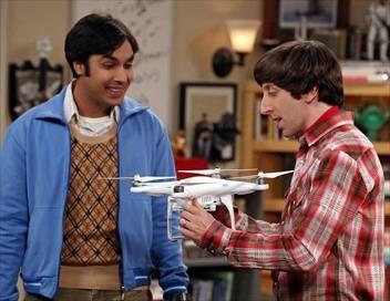 The Big Bang Theory S08E22 La toque et la toge