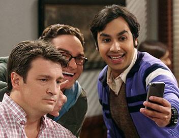 The Big Bang Theory S08E15 La régénération du magasin de BD