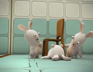 Les lapins crétins : invasion S01E56 Expérience lapin n°98006 : la chaise