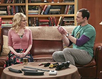 The Big Bang Theory S09E22 Bernadette va déguster
