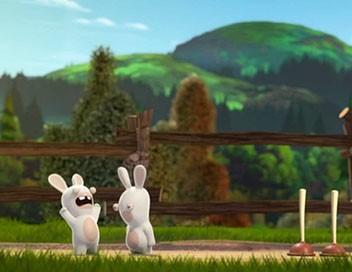 Les lapins crétins : invasion S01E53 Jeux crétins