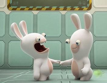 Les lapins crétins : invasion S01E54 Expérience lapin n°98005 : la différence