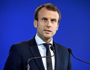 Voeux du président de la République Emmanuel Macron