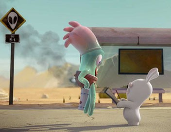 Les lapins crétins : invasion S01E57 Alien crétin
