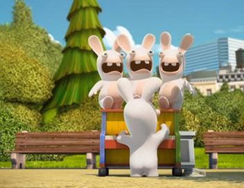 Les lapins crétins : invasion S01E63 Lapin Mozart