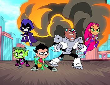 Teen Titans Go ! S01E11 Terra. - Balle au prisonnier