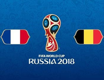 France / Belgique Football Coupe du monde 2018