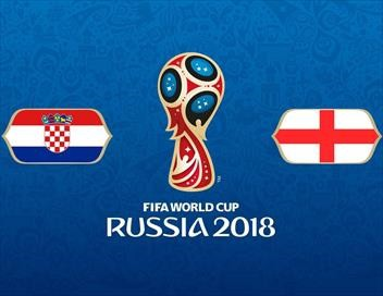 Croatie / Angleterre Football Coupe du monde 2018