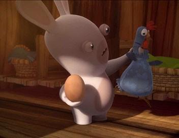 Les lapins crétins : invasion S01E02 Omelette crétine