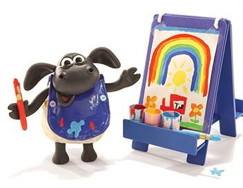 Voici Timmy S01E04 Timmy artiste peintre