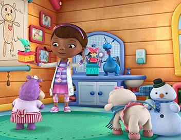 Docteur La Peluche : l'hôpital des jouets S04E00 Camille roule sa bosse. - Monica a mal aux moustaches