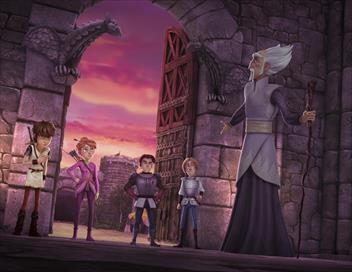 Arthur et les enfants de la Table ronde S01E49 L'exil des Tintagel