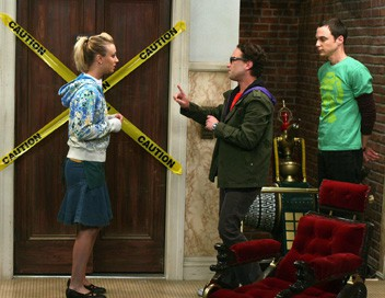 The Big Bang Theory S01E14 La machine incroyable