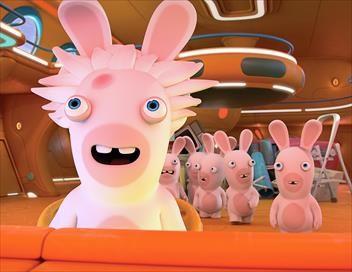 Les lapins crétins : invasion S04E00 Bagnards crétins