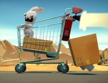 Les lapins crétins : invasion S02E10 Compression crétine