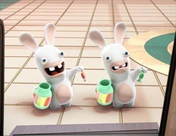 Les lapins crétins : invasion S01E03 Poulpe crétin