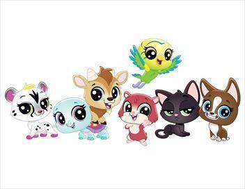 Littlest Pet Shop, un monde à nous S01E47 Surprise ! Animos Zombies !