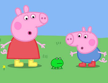 Peppa Pig S01E17 Grenouilles, vers et papillons