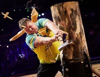 Sport de force Championnats du monde bûcheronnage sportif par équipes 2017