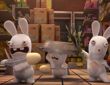 Les lapins crétins : invasion S01E10 Aspiro lapin