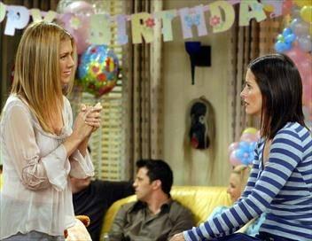 Friends S10E04 Celui qui transformait le gâteau d'anniversaire