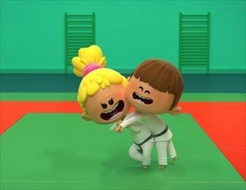 Bande de sportifs S01E10 Le judo