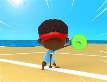 Bande de sportifs S01E14 L'ultimate frisbee