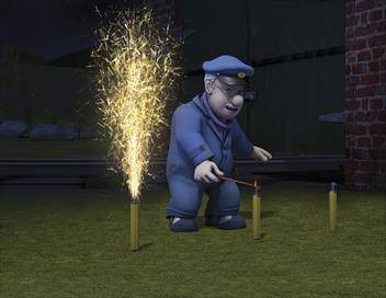Sam le pompier S02E23 Le feu d'artifice