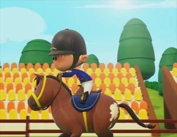 Bande de sportifs S02E14 Le dressage (équitation)