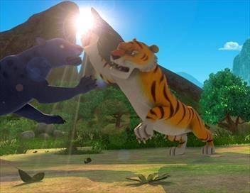 Le livre de la jungle S03E42 Pavo l'intrépide